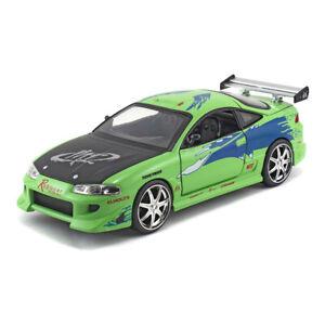Fast-amp-FURIOUS-Brian-1995-Mitsubishi-Eclipse-Sports-DIE-CAST-Coche-de-juguete