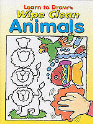 Learn to Draw Wipe Clean Animals, , Used; Good Book