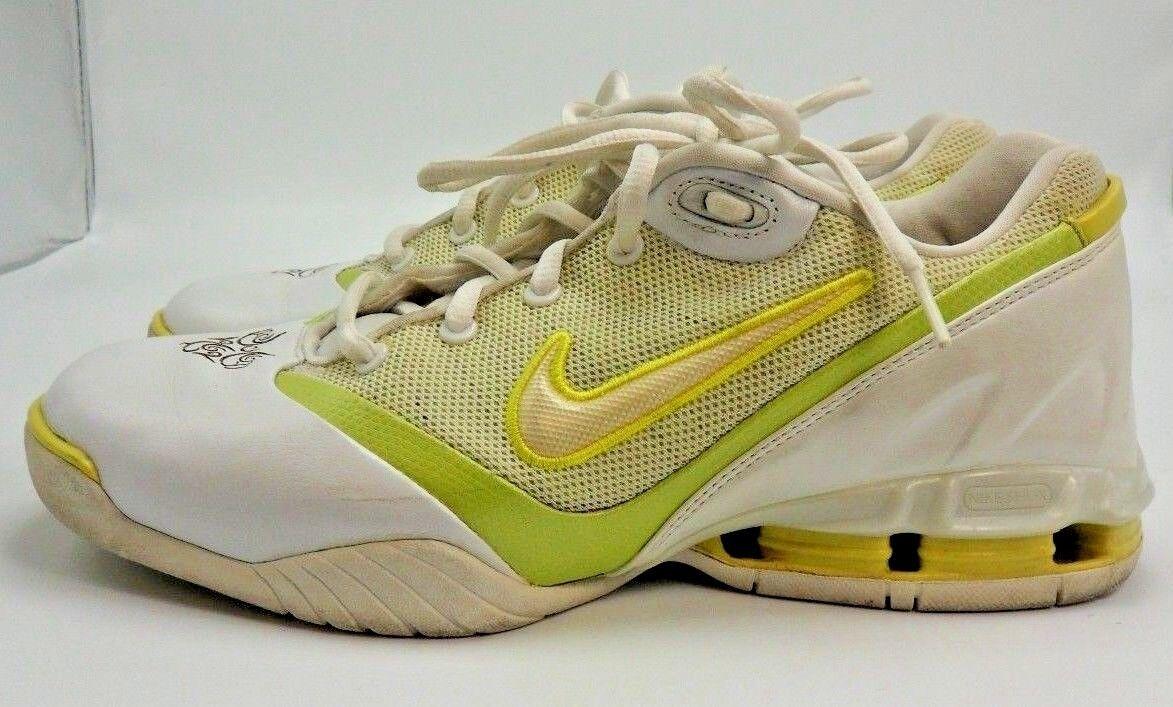 Nike Jaune Glamour D'athlétisme Chaussures Citron Blanc Des D Shox f4vqxIrwOf