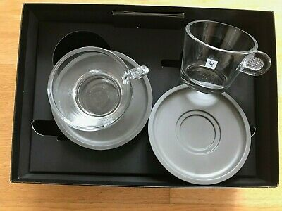 Nespresso View Cappuccino Set Of 2 x Cups & Saucers 33902 (NEW IN BOX) | eBay