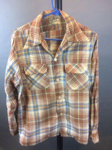 """Vintage 1950's """"Ensenada"""" Men's Gabardine Shirt"""