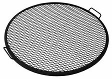 Sunnydaze X-Marks Fire Pit Cooking Grill 22in Diameter Cooking Grate, New