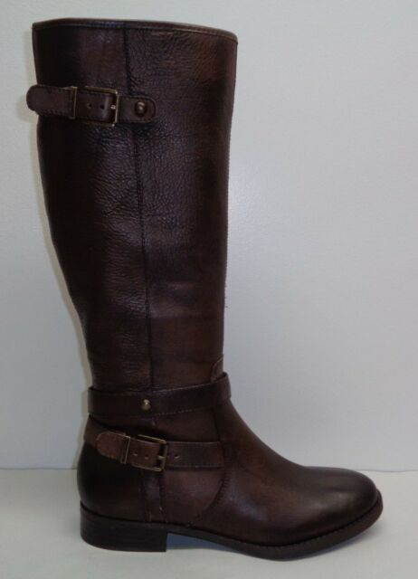 7a7c349071865 Arturo Chiang Size 8 M FIONIA Chocolate Brown Knee High Boots New Womens  Shoes