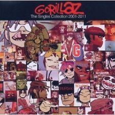 """GORILLAZ  """"THE SINGLES COLLECTION 2001-2011"""" CD+DVD NEU"""