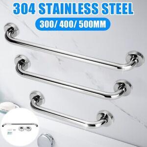 30/40/50cm Towel Rail Rack Holder Wall Mounted Bathroom Shelf  Stainless Steel