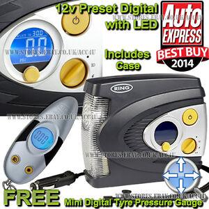 ring rac635 12v preset automatic digital car tyre air. Black Bedroom Furniture Sets. Home Design Ideas