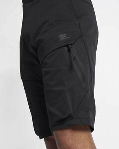 """Neuf Avec Étiquettes Homme Tissé 30/"""" Short Nike Sportswear Tech Pack 928617 004"""