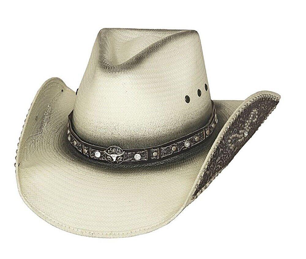 Bullhide Hats Cowboyhut Strohhut Lose my Mind Gr. S - XL   Professionelles Design