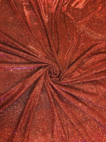 Two Tone Sparkling Glitter Moonlight Stretch Fabric 147cm Wide 11 Colours