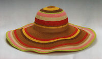 Grace Hats York Burning Circus Floppy Wide Sun Multi Color Festival