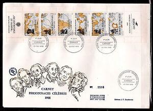 FRANCE-1er-jour-FDC-1988-N-yt-BC2523-marins-et-explorateurs-celebres-AVF-01