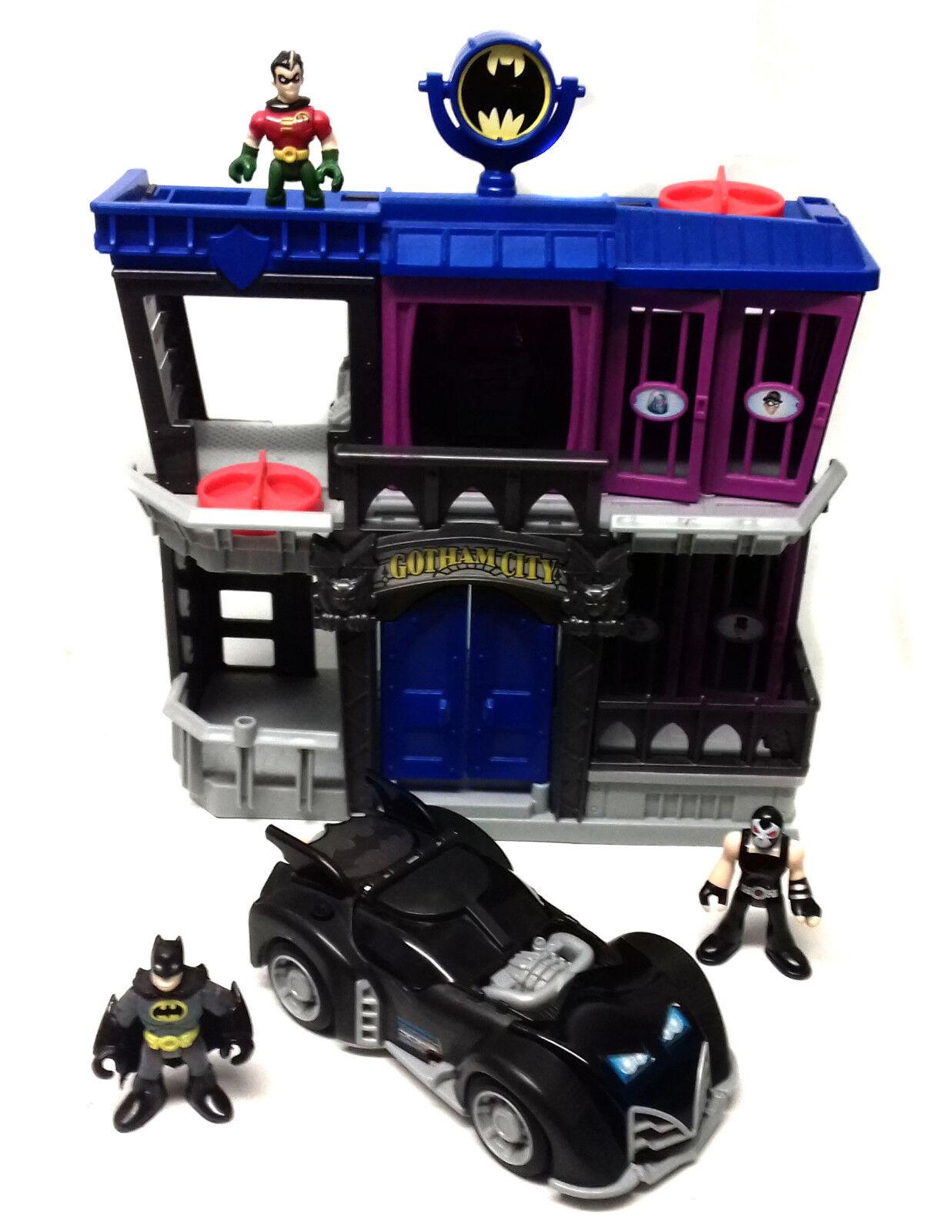 DC Fisher Price toys IMAGINEXT BATMAN GOTHAM JAIL  Toy Figures & vehicle set