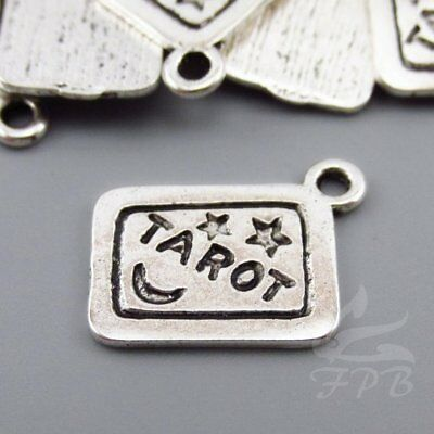 Rise Up Charms 15mm Antiqued Silver Plate Hamilton Charms SC0095066-4//15//30PCs
