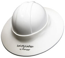 Construction Hard Hat Sun Visor WHITE 5-PACK