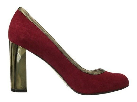 180 Cole Pump Haan Edie High Party Pump Cole Heel Suede Schuhes Damenschuhe ROT 6 NEW IN BOX 6e6ff3