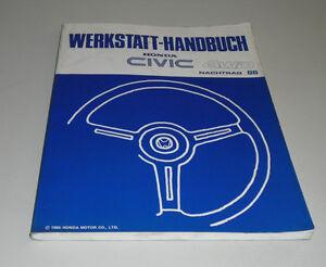 Werkstatthandbuch-Honda-Civic-4-WD-Stand-11-1985