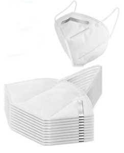 KN95 Folding Respirator Protective Mask 5 Pack Ships *Includes Free Face Shield