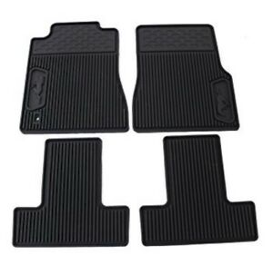 details about 05 09 ford mustang all weather rubber floor mats black pony logo 6r3z 6313300 a Ford Logo Floor Mats