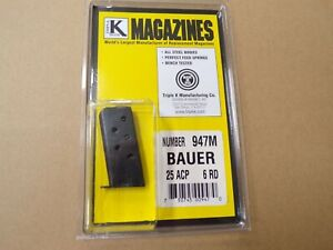 Bauer-25-ACP-Magazine-by-Triple-K-Model-947M