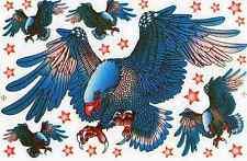 N-515 Adler Eagle Aufkleber Sticker 1 Bogen 27 x 18 cm Racing Tuning