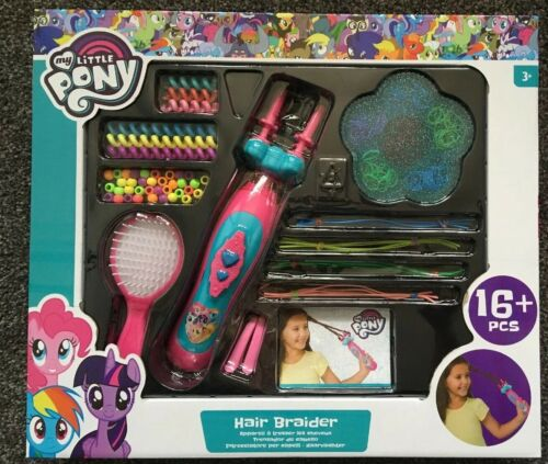 ans Hasbro avec perles My Little Pony cheveux Métier à Tresser Set ÂGe 3