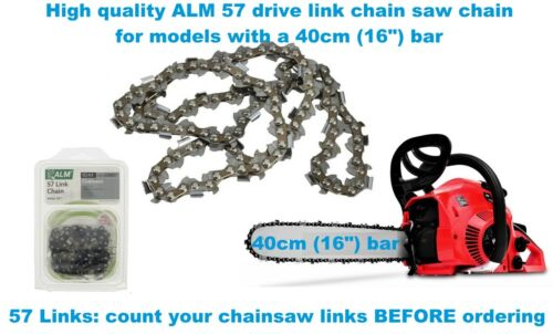 Ikra ALM Chainsaw Chain 40cm 16 inch 57 Links High Quality