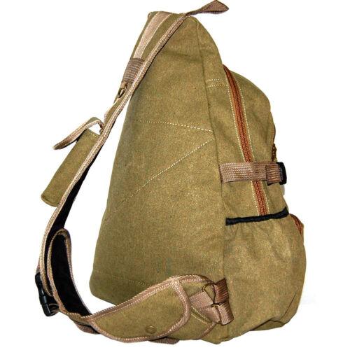 New TACTICAL UNBALANCED MILITARY BACKPACK SLING BAG #391 Beige