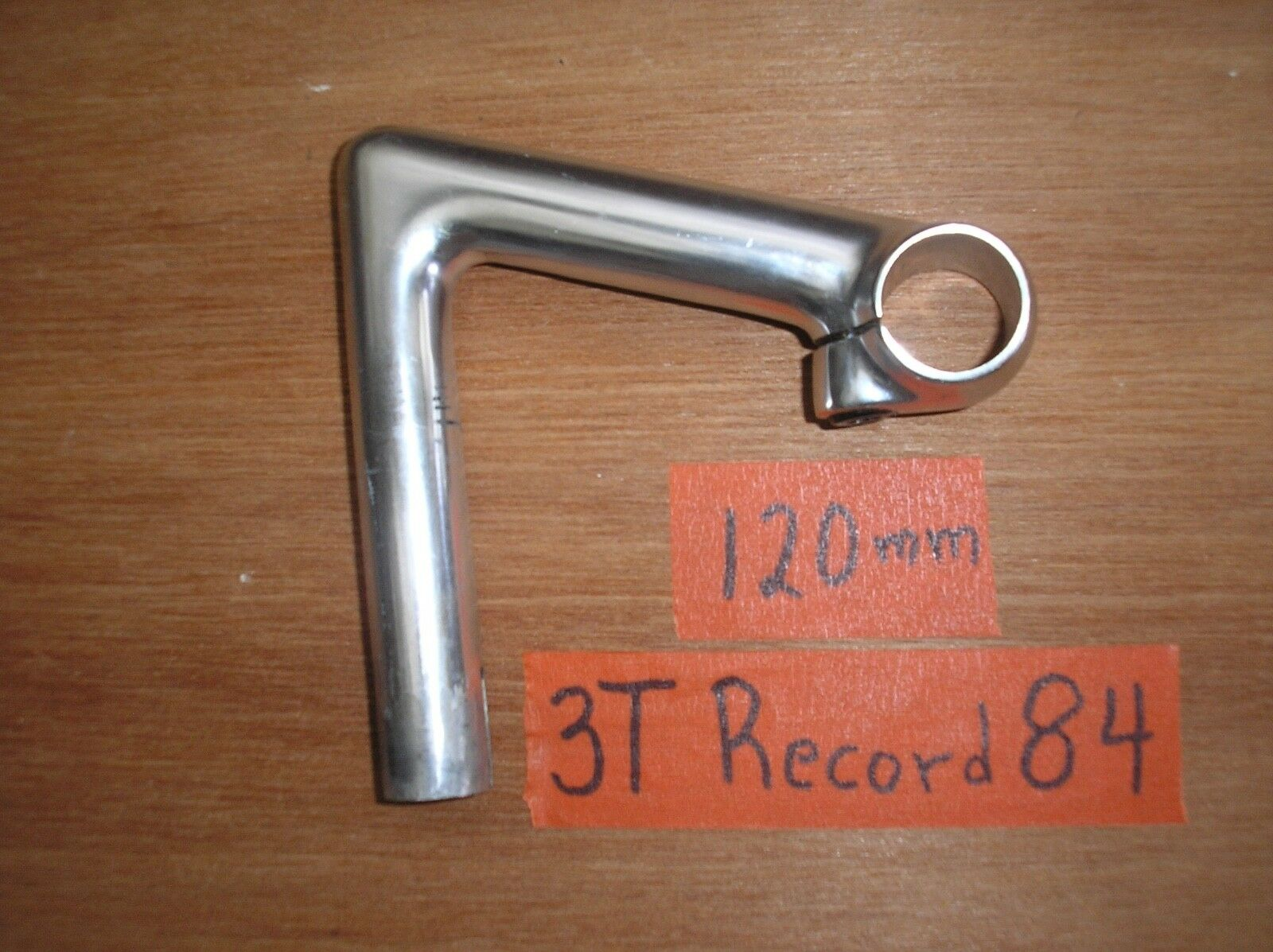 USED 3T Record 84 QUILL ROAD STEM 120mm 26.0mm 3TTT CAMPAGNOLO VINTAGE ROAD RACE