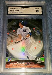 AARON-JUDGE-2017-BOWMAN-PLATINUM-PSA10-ROOKIE-RADAR-RR-AJ-NEW