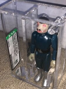 Afa 85 Kenner 1978 Star Wars Loose Blue Snaggletooth Dent Dans Boot Nm