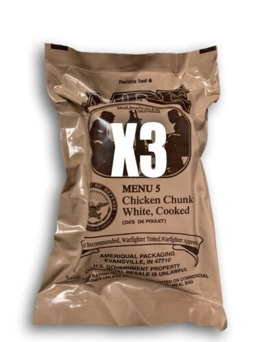 Nouveau nous meal prêt à manger 3 Pack #5