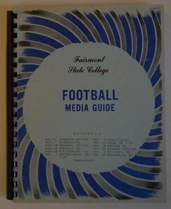 Vintage-Football-Media-Press-Guide-Fairmont-State-University-1974