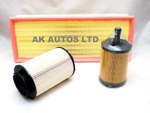 For CITROEN BERLINGO 2.0 HDI TD 02  3PC SERVICE KIT OIL AIR /& FUEL FILTER
