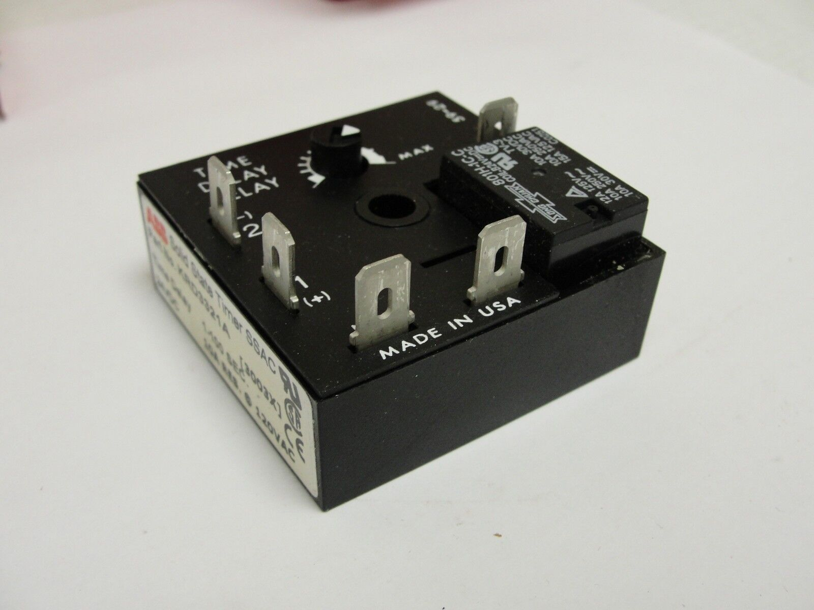 New ABB Timer KRD3321A, 1-100 seconds, 24VDC