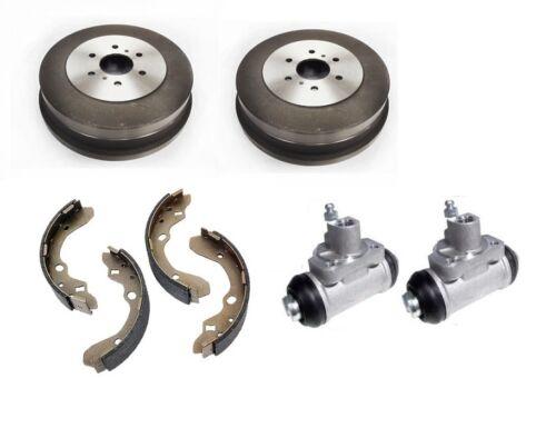 Heck Bremstrommeln Schuhe /& Radzylinder für Nissan Navara D40 Pick Up 2.5dci