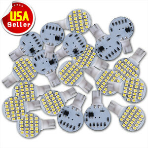 20x T10/921/194 Pure White RV Trailer Landscaping 24 SMD Interior LED Light Bulb
