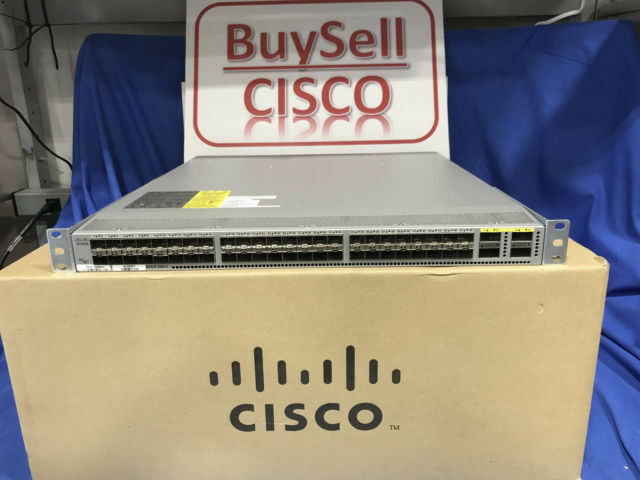 Cisco Nexus (N3K-C3064PQ-10GX) 48-Ports Rack-Mountable Ethernet Switch Dual AC