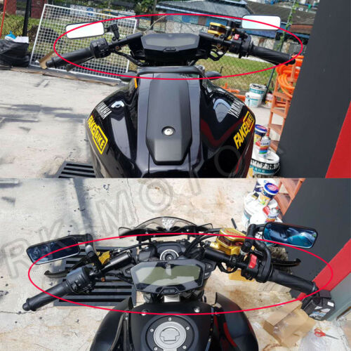 """Details about  /1.5/"""" Inch Rise Clip-On Adapters Plate Fit For Ducati 796 1100 With 5 Color Bars"""