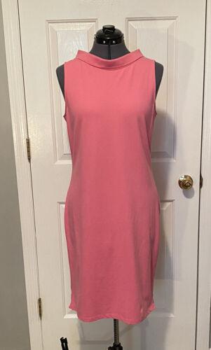 Talbots Collared sleeveless T-shirt Dress M 267