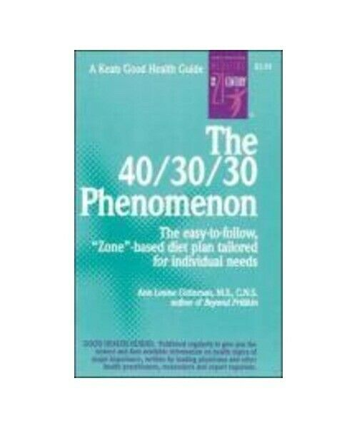 "Ann Louise Gittleman ""The 40/30/30 Phenomenon"""
