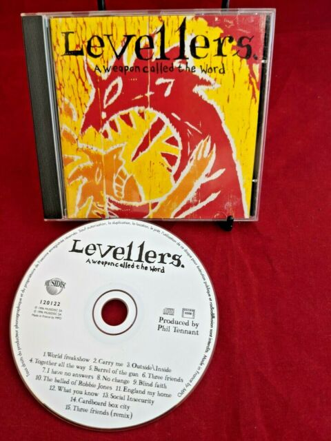 The Levellers - A Weapon Called The Word CD (Special ED) *French Pressing* 1996