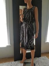 BCBGMAXAZRIA sequined dress  4