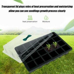 5 Sets 24 Cells Plant Seeds Germination Tray Nursery Pots Planter Flower Pot