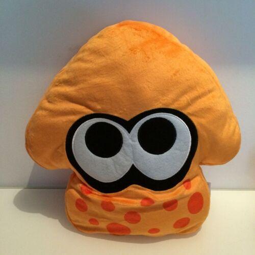 "New Splatoon Orange Squid Plush Cushion Pillow Toy 14/"""