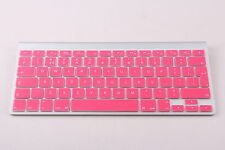 Pink UK/EU Silicone keyboard Cover Protector for Apple iMac, Macbook Pro