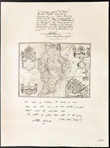 1926-Litografia-citacion-el-duque-de-Connaught-amp-el-principe-de-CONNAUGHT-WW1