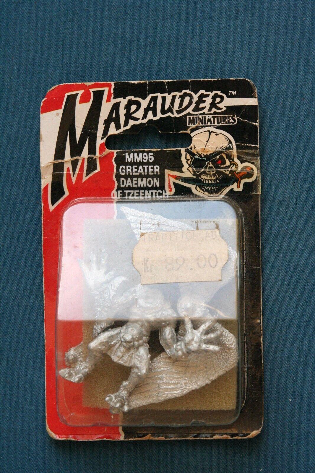 Games Workshop Marauder mm95 mayor demonio de Tzeentch Nuevo Sin Abrir 1988 Rara
