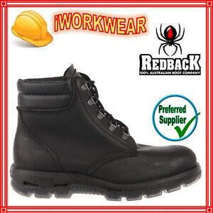 627716c3ad4 Details about NEW Redback UABK ALPINE BLACK KIP LACE UP NON SAFETY BOOTS  ALL SIZES UABK