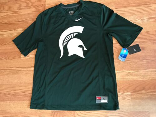 70 football Vert Michigan XL Michigan Vert Head Nike 806491528296 Msu Head Spartan Spartans de Maillot UxHOgU