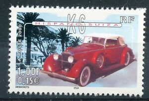 STAMP-TIMBRE-FRANCE-NEUF-N-3321-VOITURE-HISPANO-SUIZA-K6